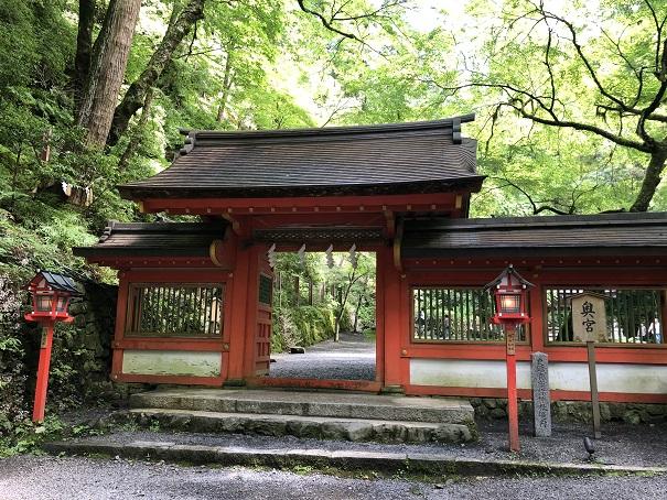日本三大龍穴に数えられる「奥宮」