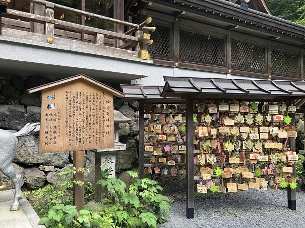 絵馬発祥の地貴船神社