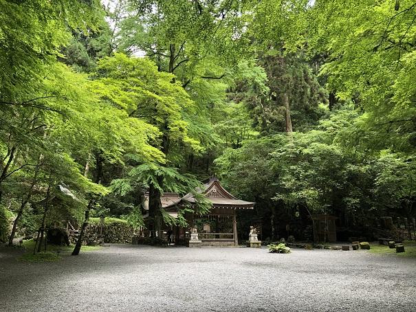 日本三大龍穴に数えられる「奥宮」 貴船神社