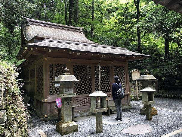 日本三大龍穴に数えられる「奥宮」貴船神社