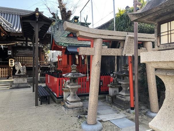 門真神社 稲荷神社