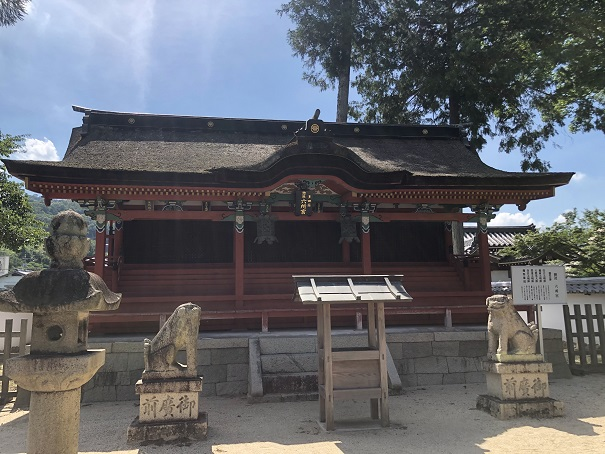 六所宮(摂社)