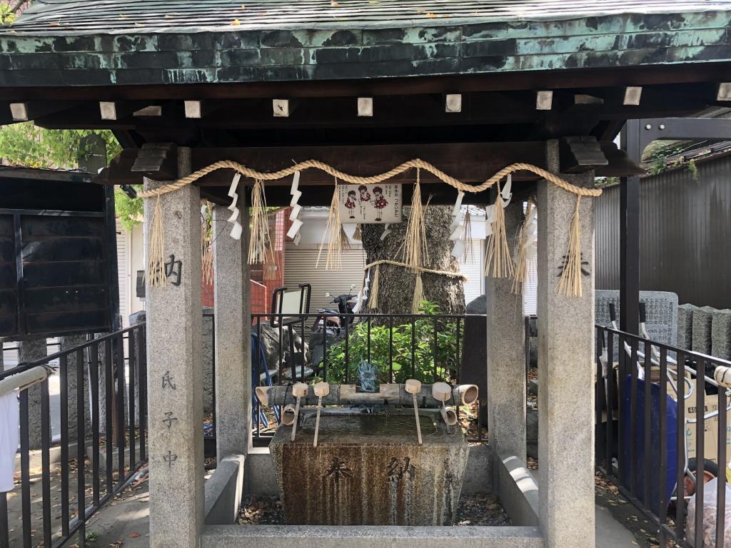 三島神社手水舎