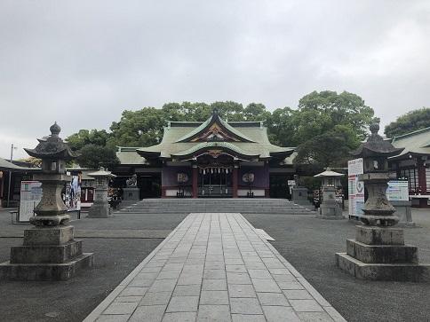 篠崎八幡神社 拝殿
