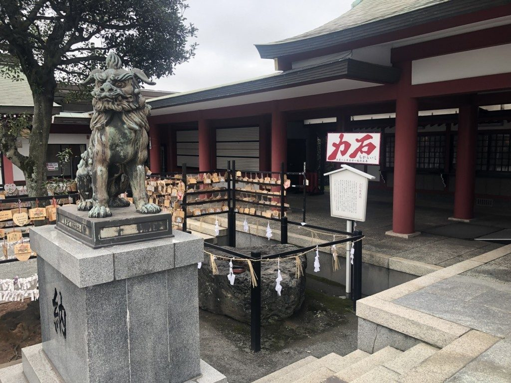 篠崎八幡神社の力石