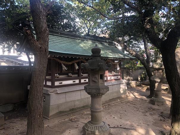 岩屋神社の七神社
