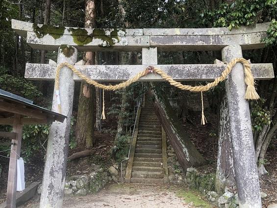 高皇産神社 鳥居