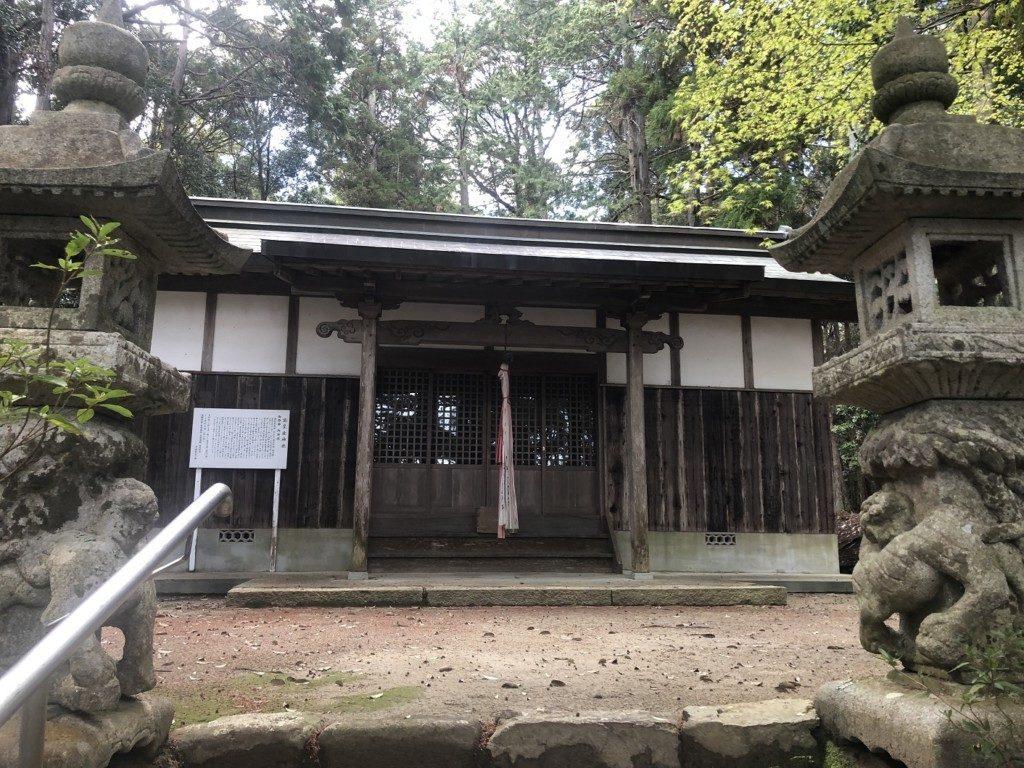 高皇産神社の社殿