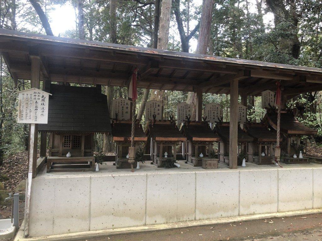 高皇産神社の七社