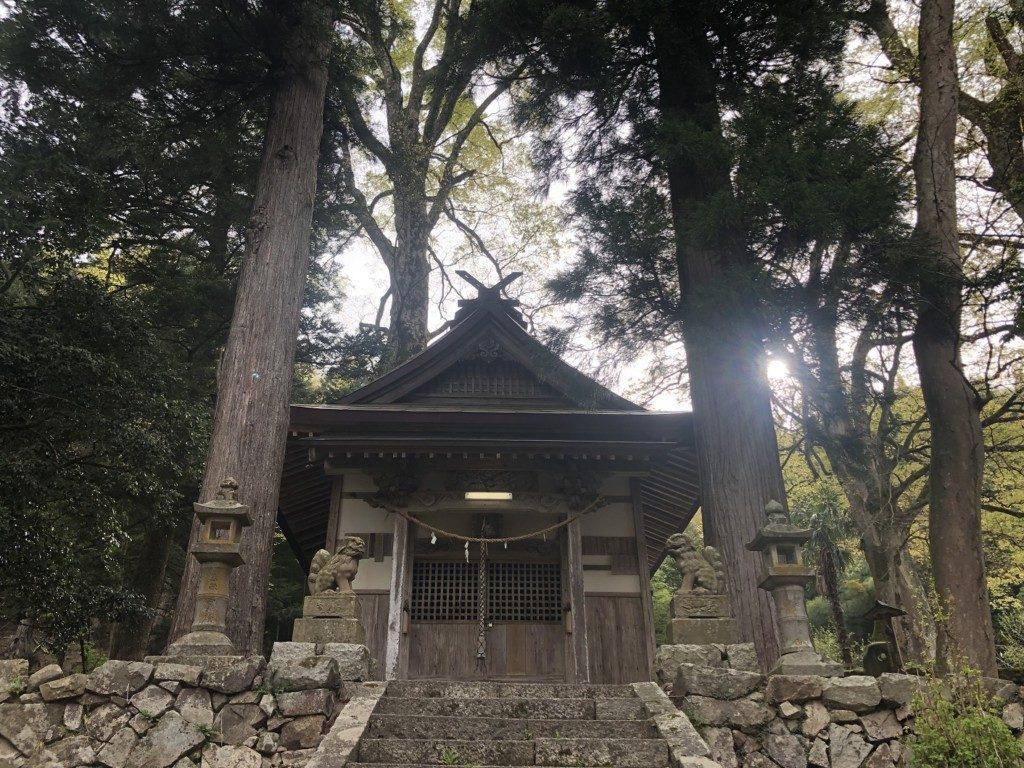 久畑一宮神社の拝殿