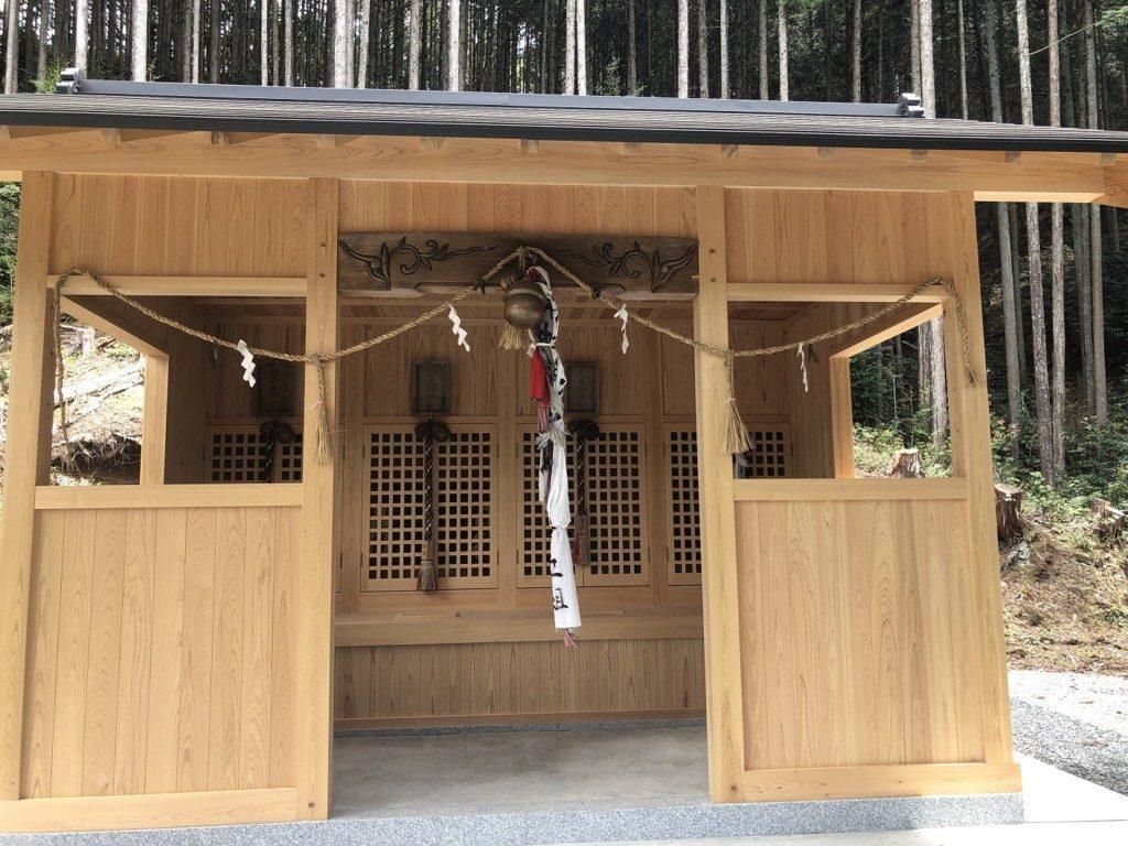 丹波篠山春日神社の四社