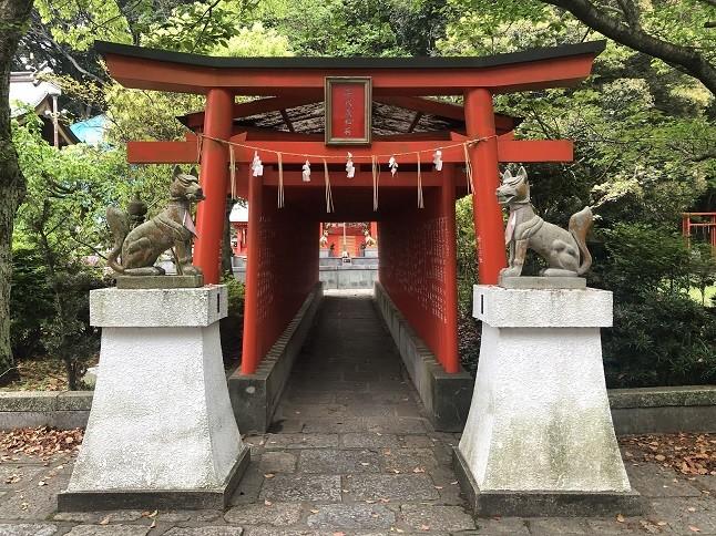 戸上神社の喜代茂稲荷社