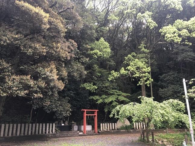 戸上神社の高倉稲荷社