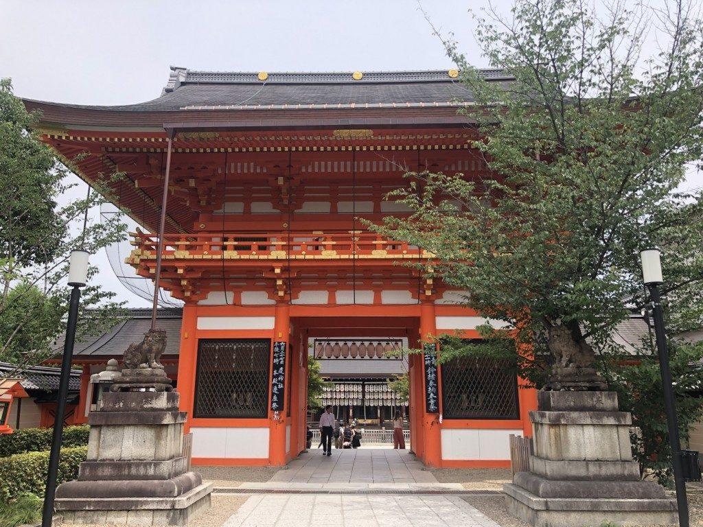 京都八坂神社の南楼門