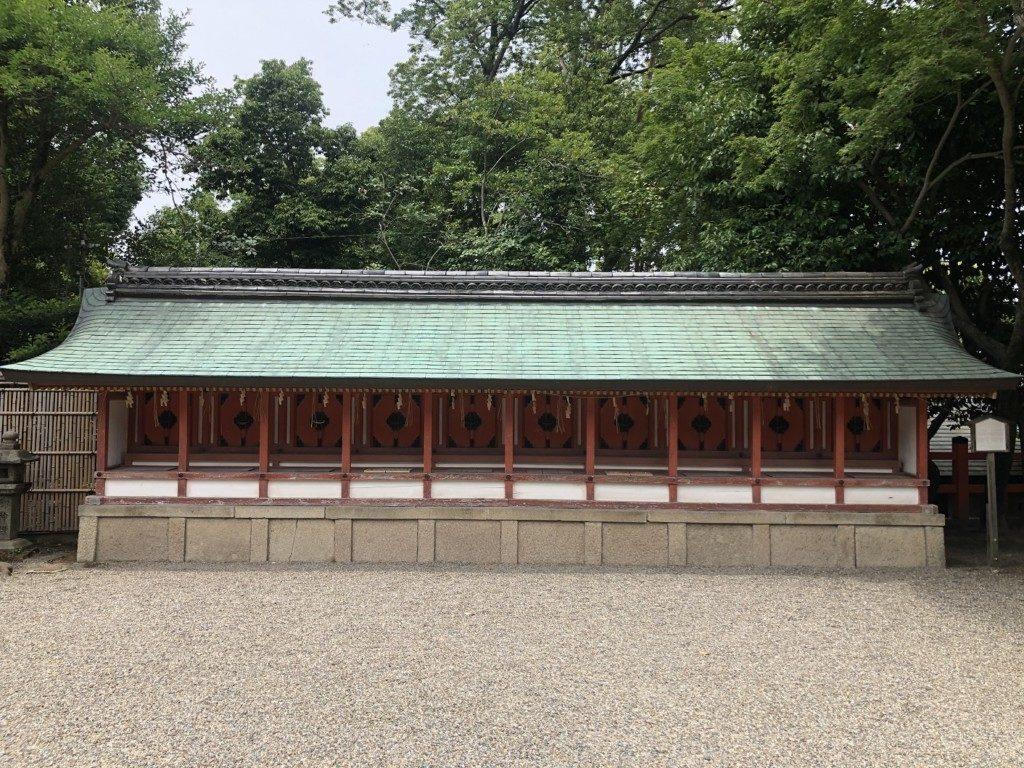 京都八坂神社の十社