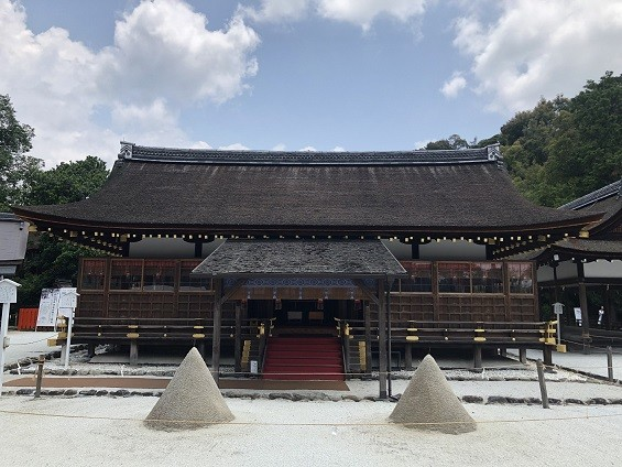 上賀茂神社 細殿&立砂