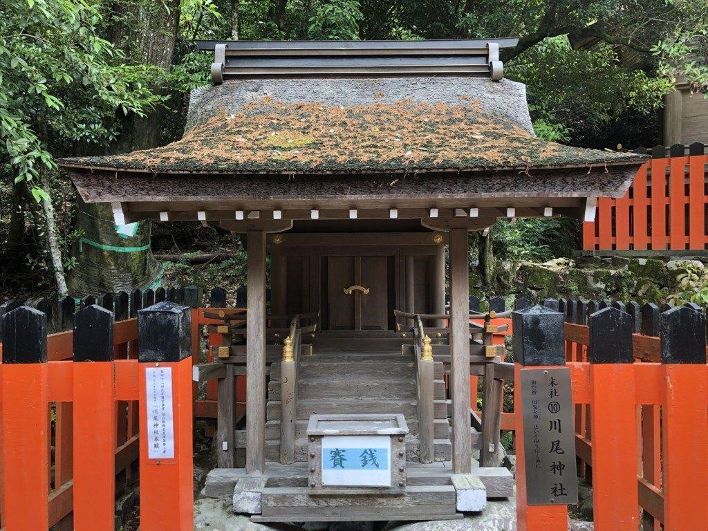 京都上賀茂神社の末社川尾神社