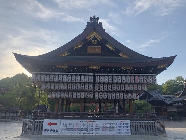 京都八坂神社 舞殿