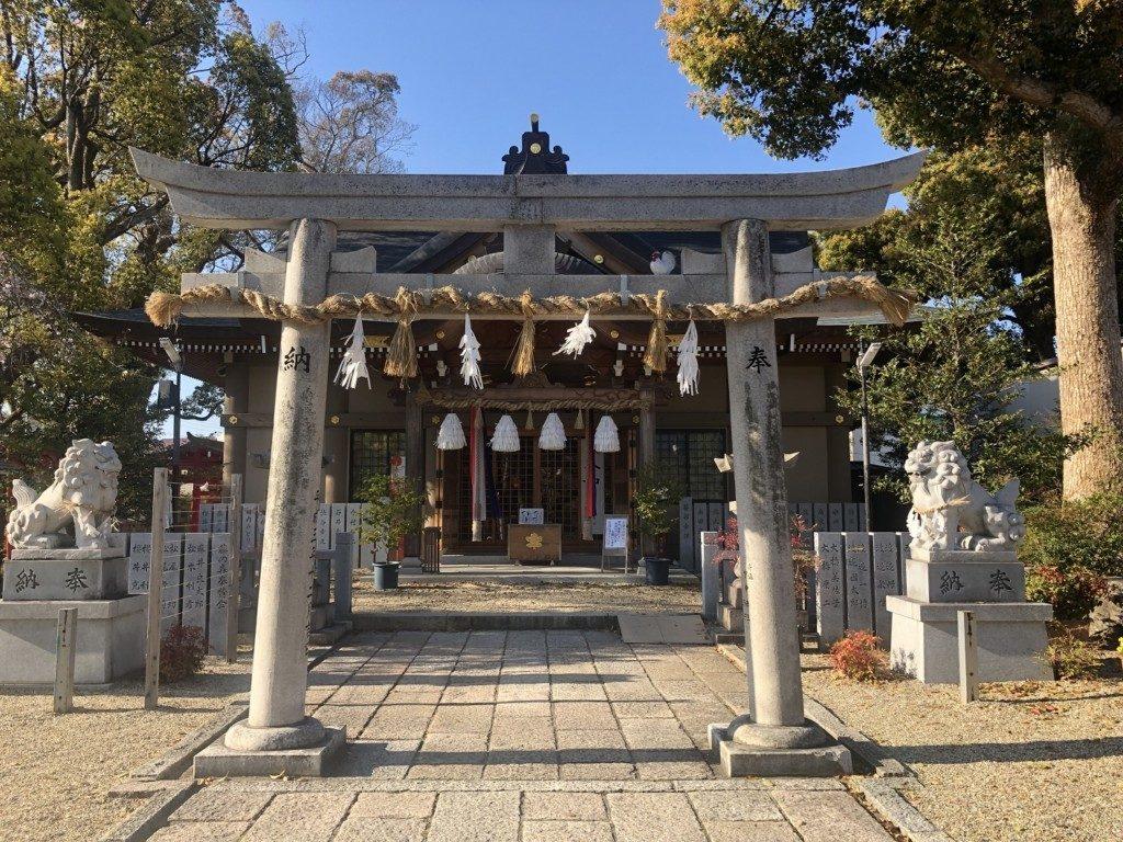 閑静な住宅街に鎮座「小戸神社」(兵庫県川西市)