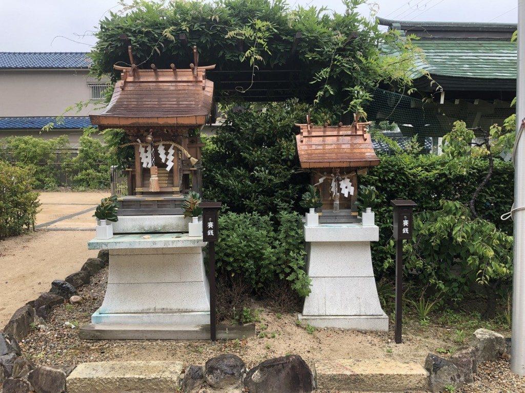 稲爪神社の末社①