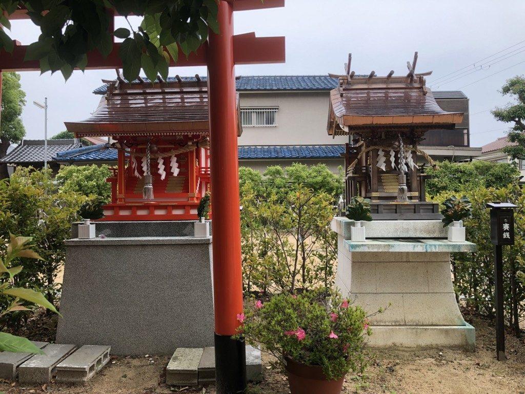 稲爪神社の末社②