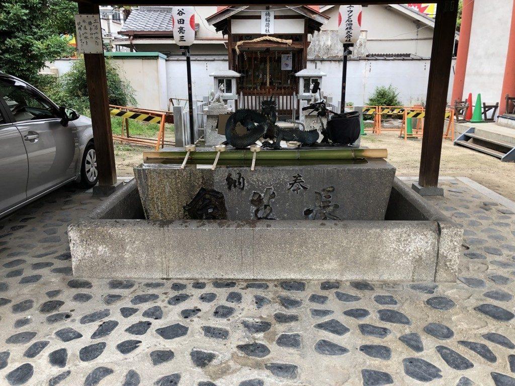 敷津松之宮の手水舎