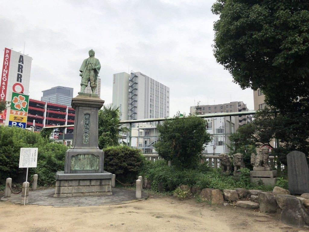 敷津松之宮の像