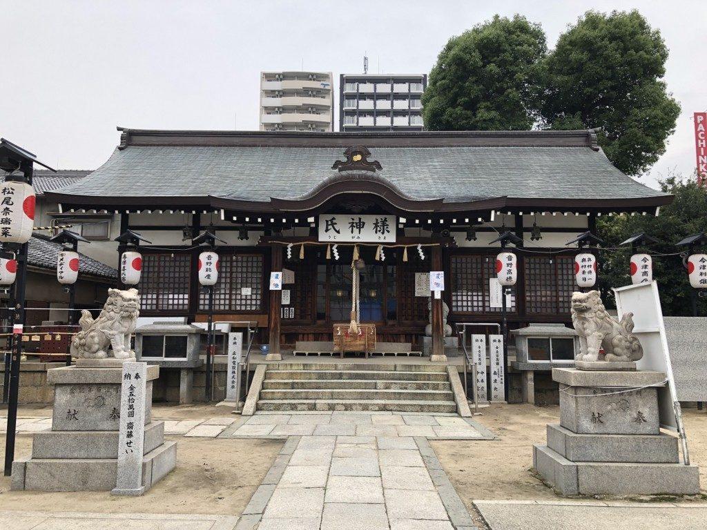 敷津松之宮の拝殿