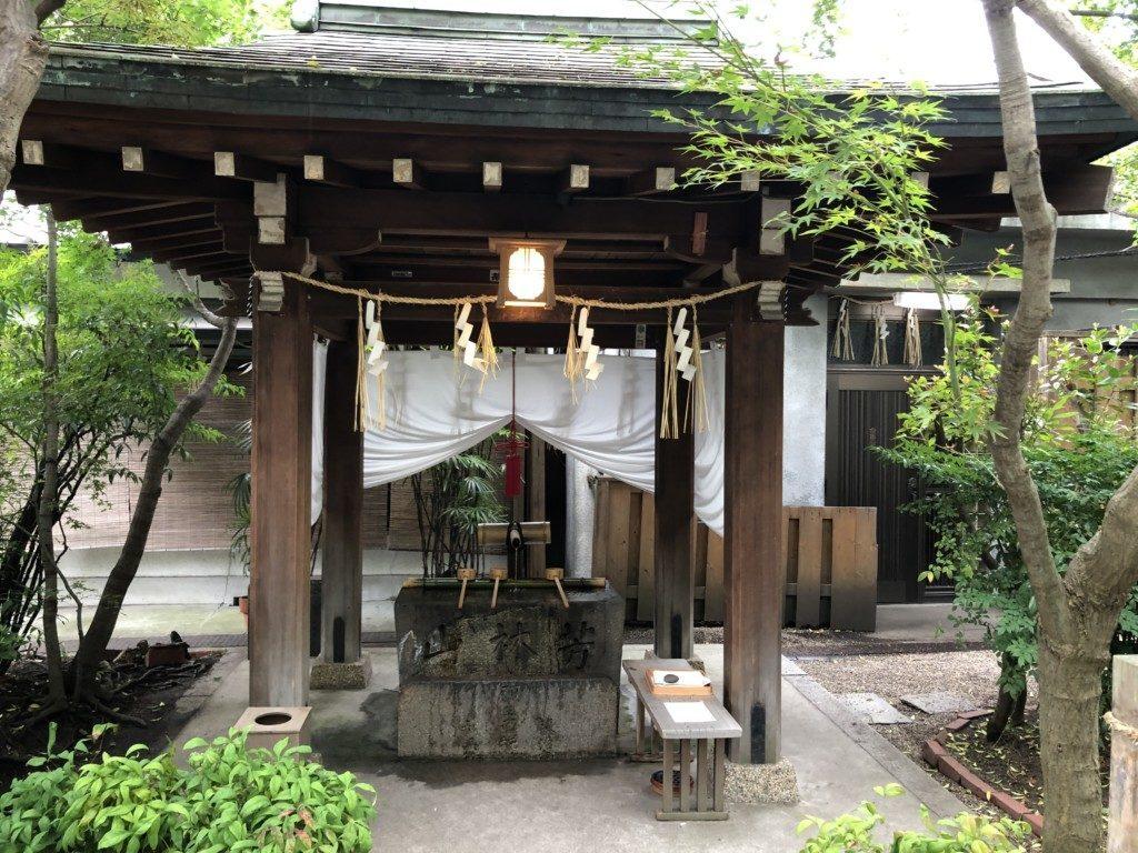 堀越神社 手水舎
