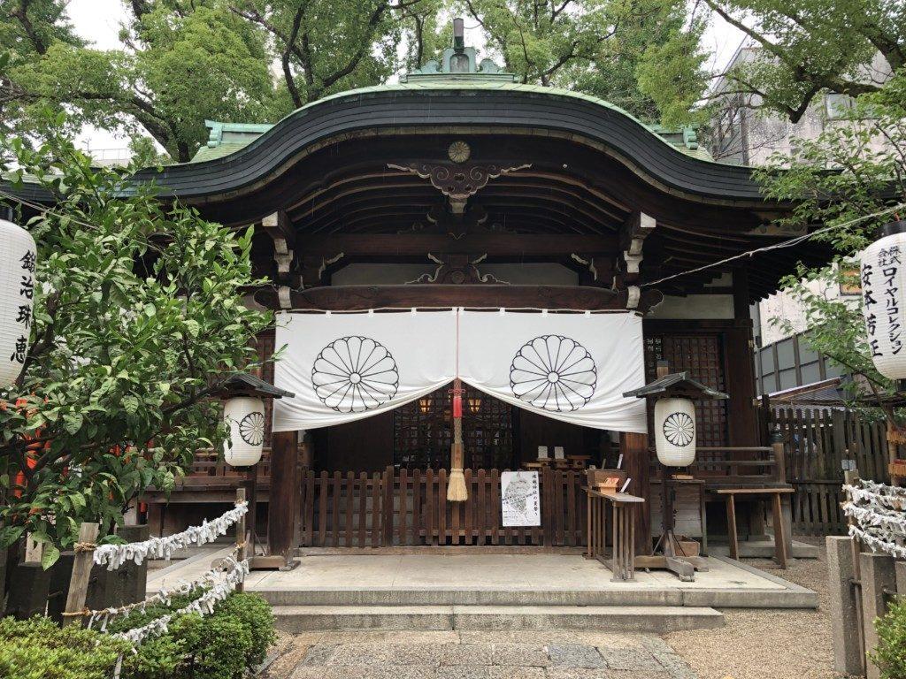 堀越神社 拝殿