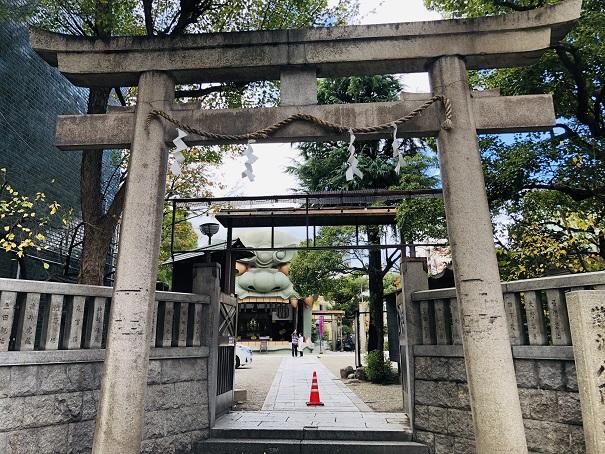 素戔嗚尊をご祭神として祀る「難波八阪神社」の歴史