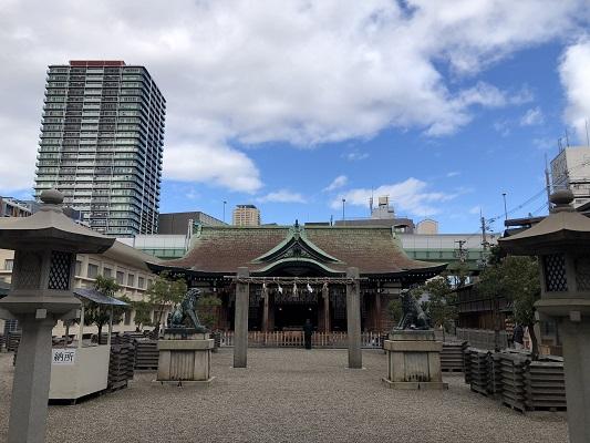 日本三大えびす神社の一社「今宮戎神社」の歴史
