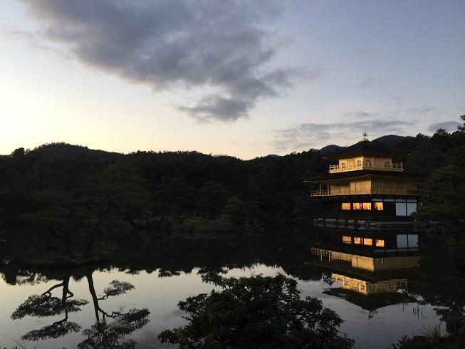京都の風情ナンバーワン「鹿苑寺(金閣寺)」(京都市北区)