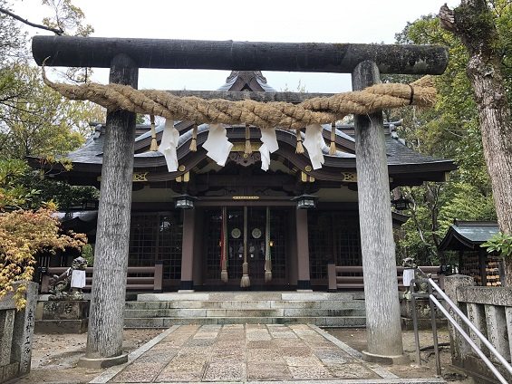 阿比太神社社殿