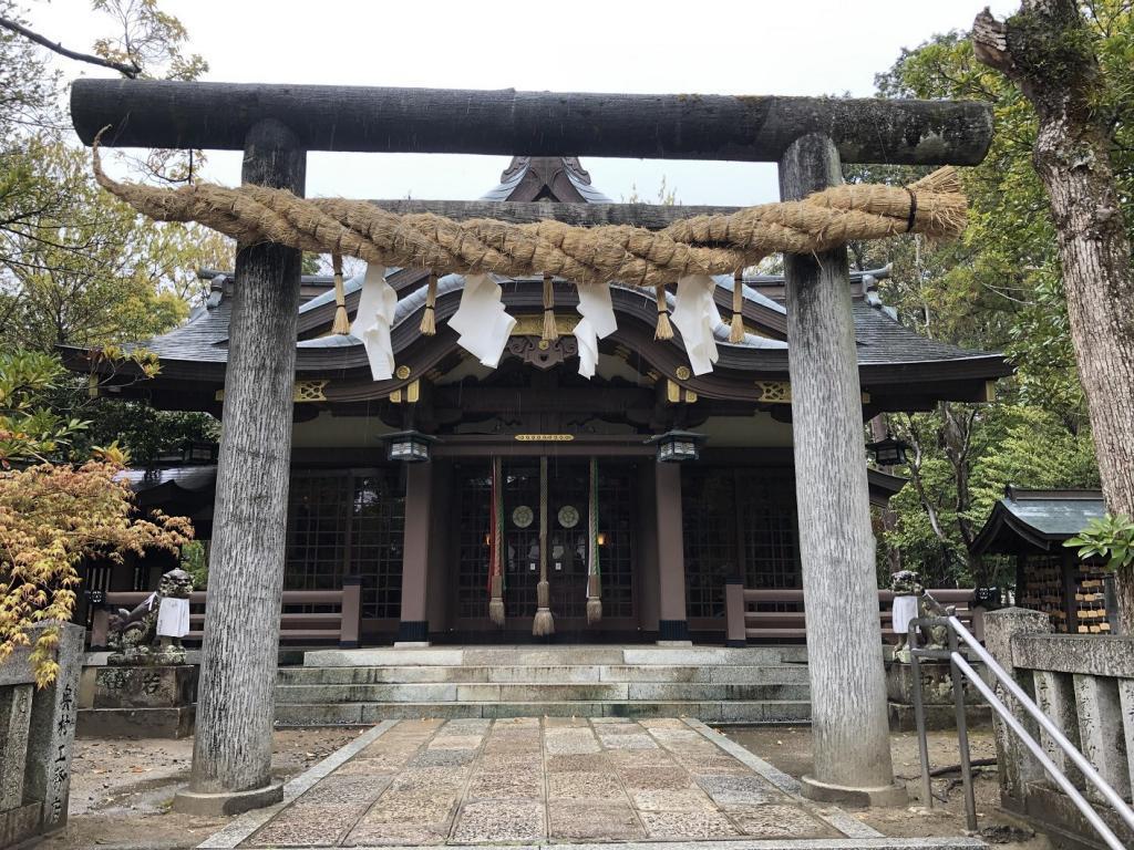 阿比太神社拝殿