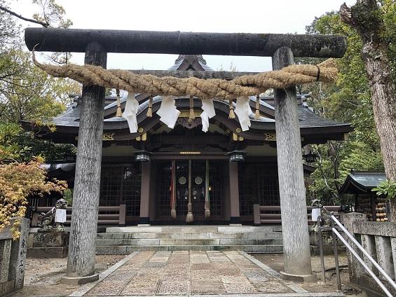 阿比太神社 社殿