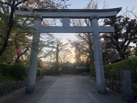 神田の宮と呼ばれる「池田八坂神社」の歴史