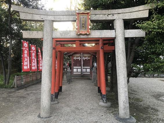 池田八坂神社の境内社(摂社・末社)