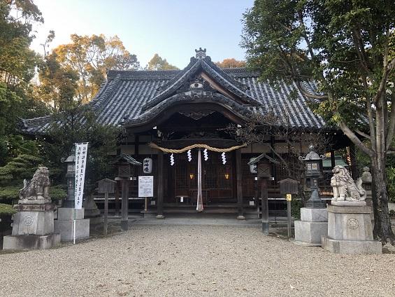 素戔嗚尊をお祀りする社殿とご利益 池田八坂神社