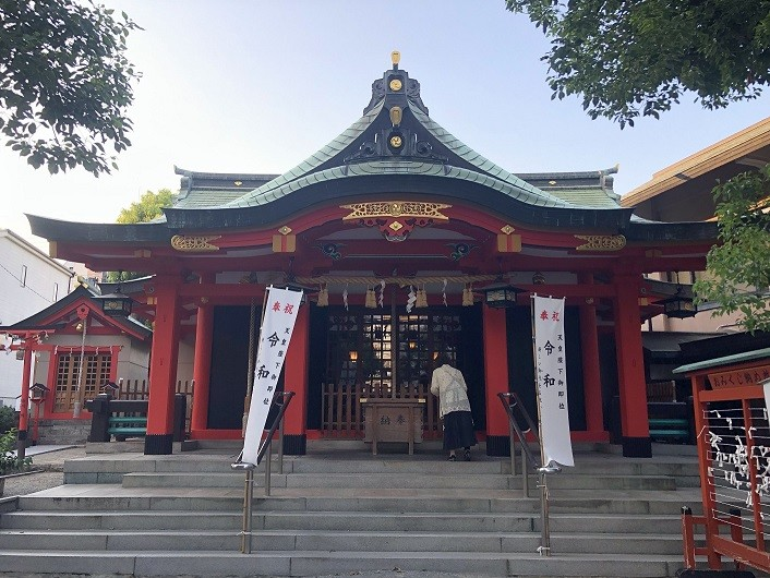 神津神社 拝殿