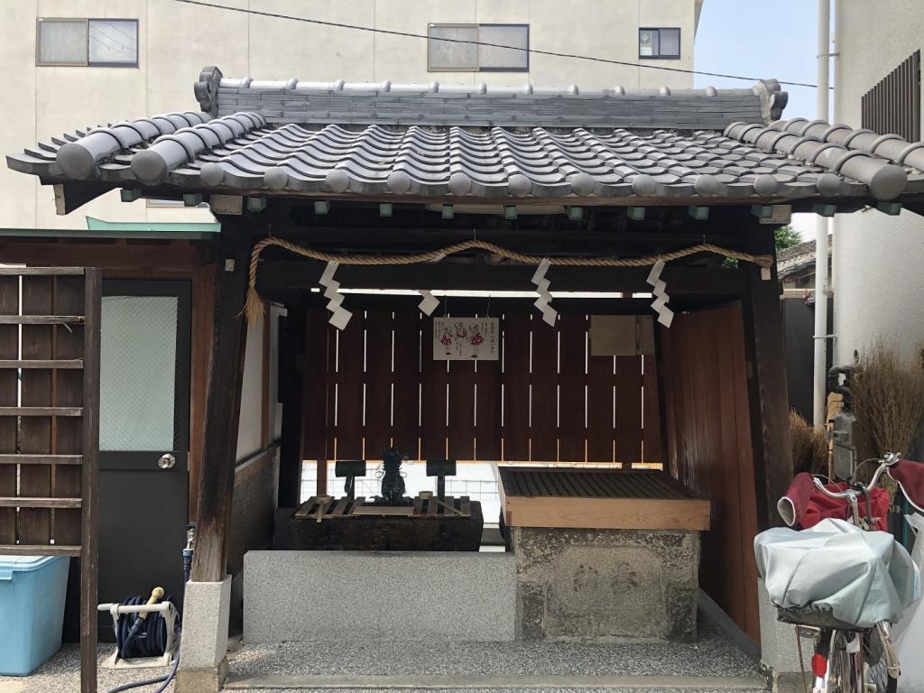 鶴見神社手水舎