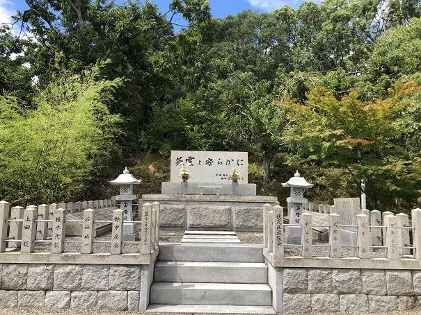 乃木神社英霊を安らかに碑