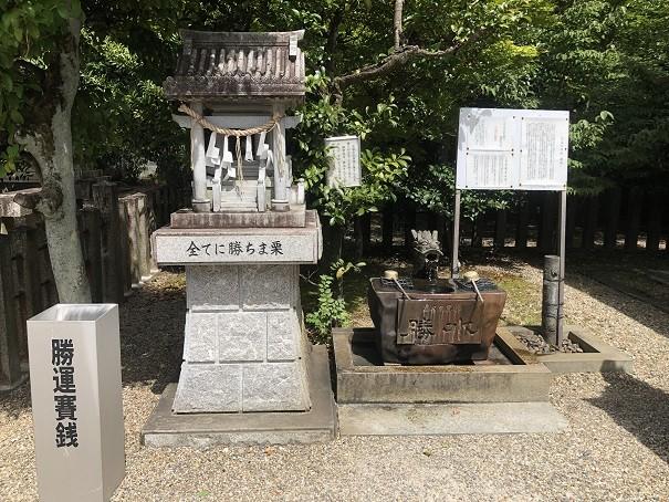乃木神社全てに勝ちま栗