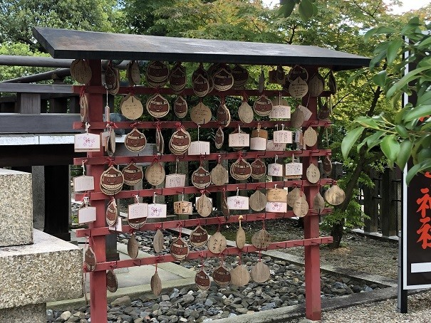 乃木神社絵馬掛け所