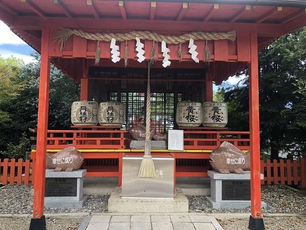 乃木神社山城えびす社