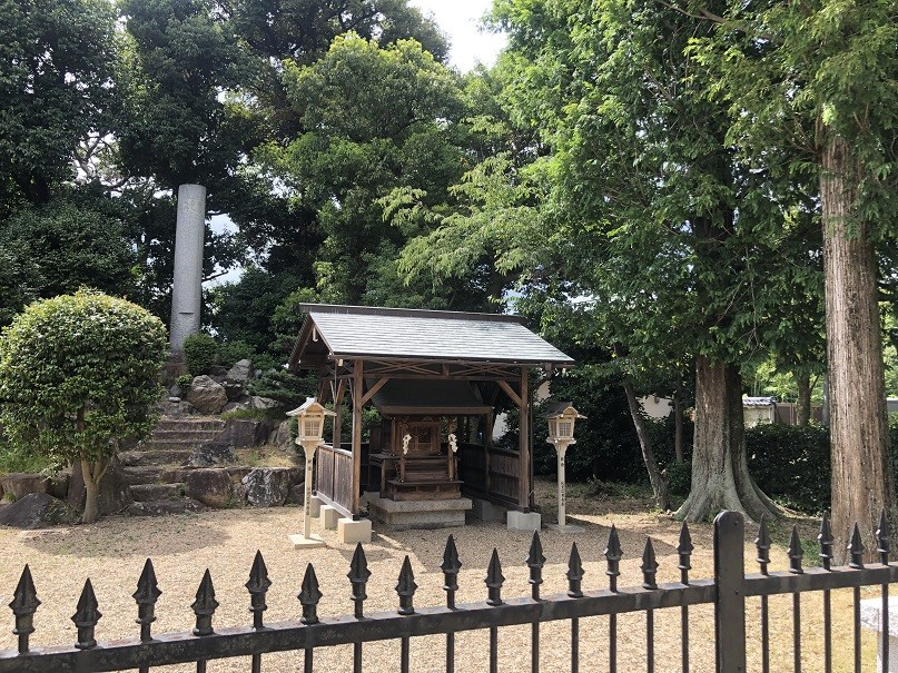 御香宮神社伏見義民事跡