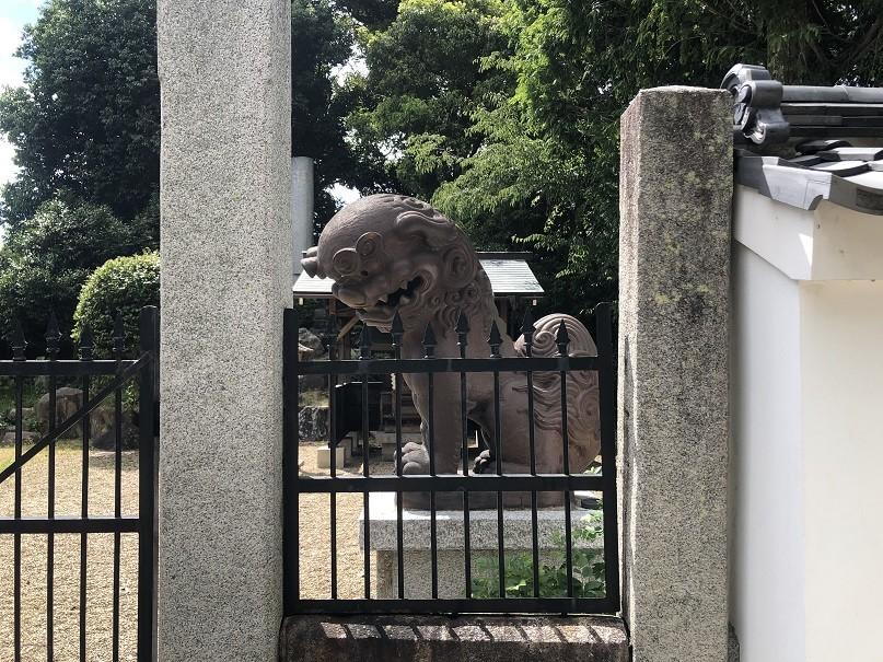 御香宮神社狛犬
