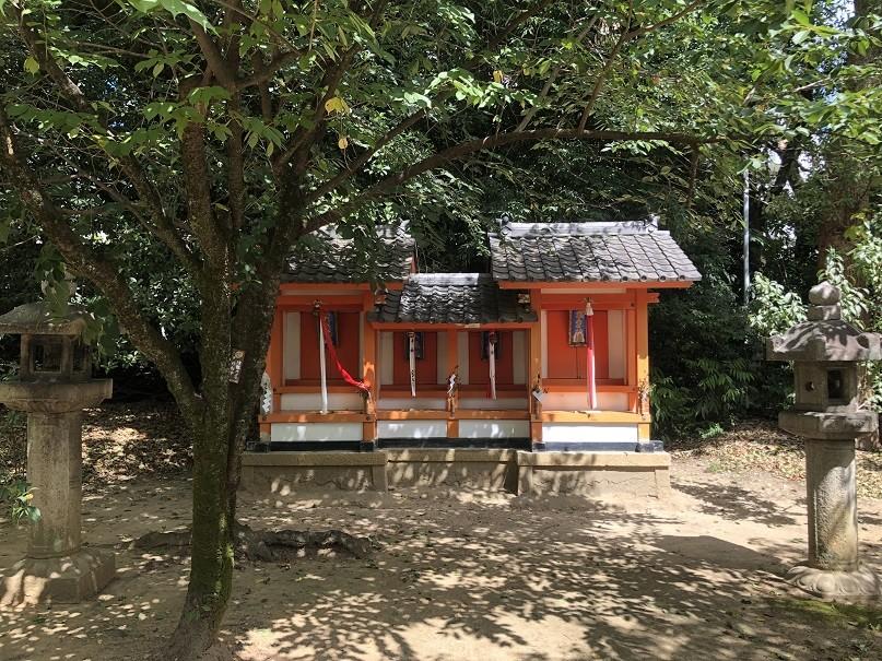御香宮神社四社