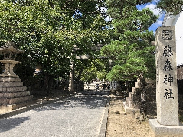 藤森神社 鳥居&社号碑