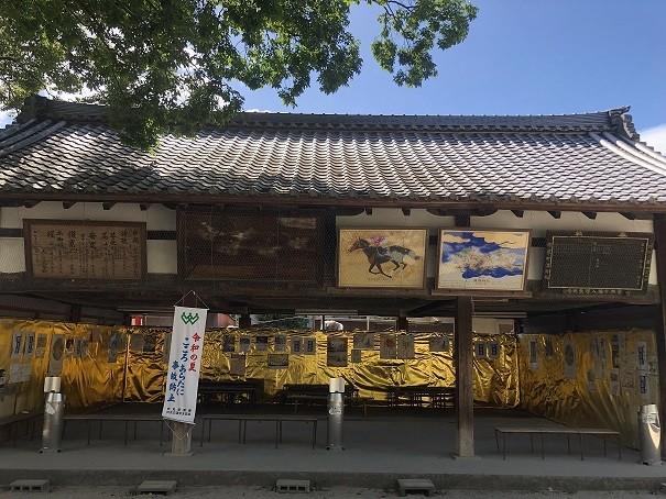 藤森神社 絵馬舎